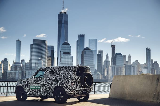 Land Rover Defender to be Unveiled in 2019 and Available in US and Canada - Rear