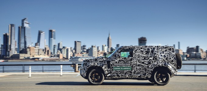 Land Rover Defender to be Unveiled in 2019 and Available in US and Canada - Side