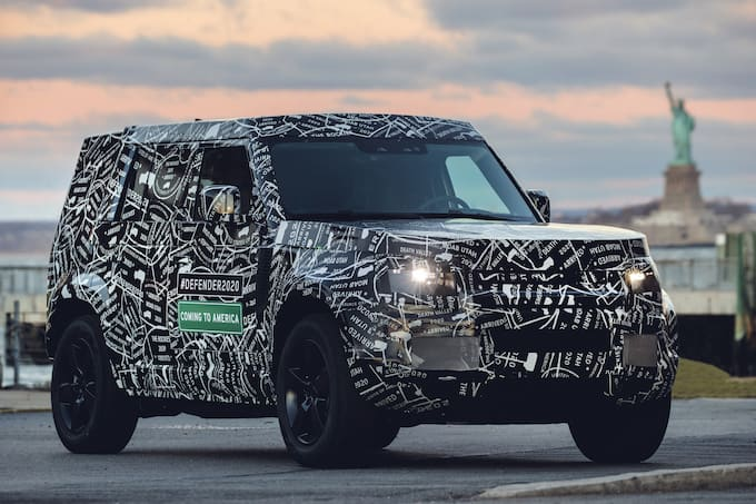 Land Rover Defender to be Unveiled in 2019 and Available in US and Canada