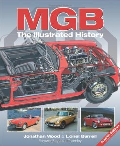 MGB - The Illustrated History, 4th Edition - Cover