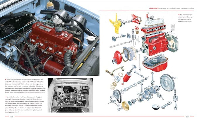 MGB The Illustrated History 4th Edition Engine Shot