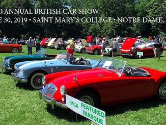 Michiana Brits 32nd Annual British Car Show - Indiana