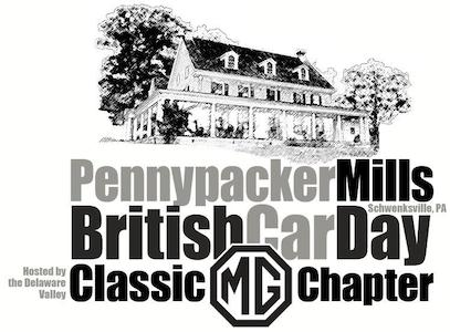 Pennypacker Mills British Car Day