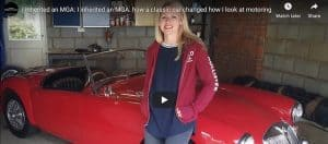 VotW – Inherited an MGA - How a Classic Car Changed How I Looked at Motoring