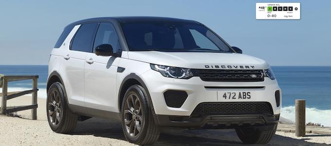 AIR Index Discovery Sport - Independent emissions testing reveals Jaguar Land Rover Diesels are the best in Europe