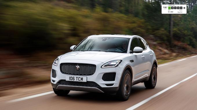 AIR Index E-PACE - Independent emissions testing reveals Jaguar Land Rover Diesels are the best in Europe