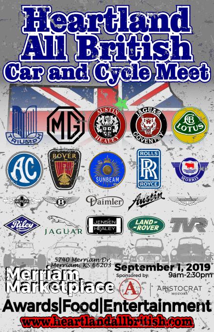Heartland British Car Meet Flyer