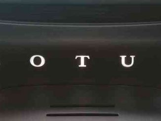 Lotus Type 130 - Rear Logo