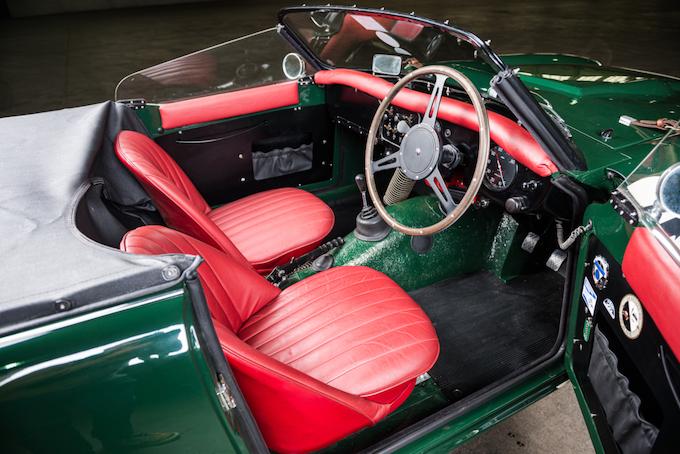 1960 Triumph TRS interior 2