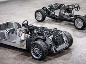Morgan CX-Generation platform and traditional steel chassis square, 2019