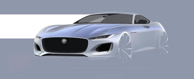 New Jaguar F-TYPE Design Drawing
