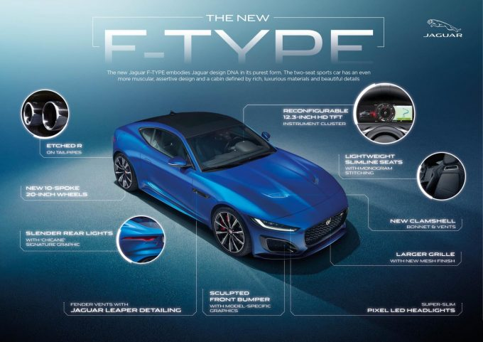 New Jaguar F-TYPE Features