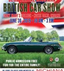 Michiana Brits 33rd Annual British Car Show