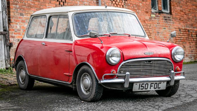 1962 Austin Mini Cooper Mk1 Project