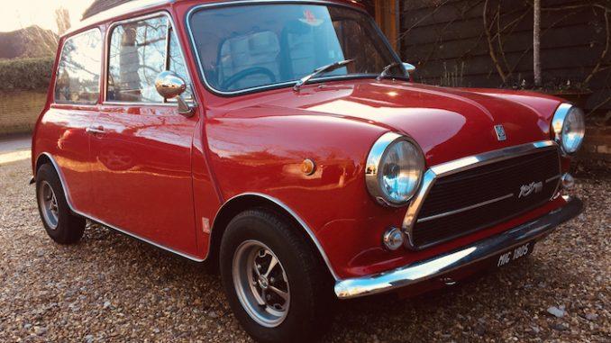 1975 Innocenti Mini Cooper 'Export 1300'