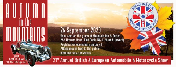 21st Annual Autumn in the Mountains British