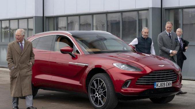 Aston Martin St Athan HRH visit (5)