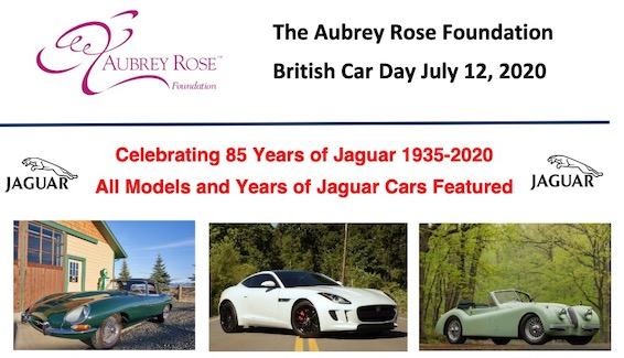 Aubrey Rose Foundation British Car Day