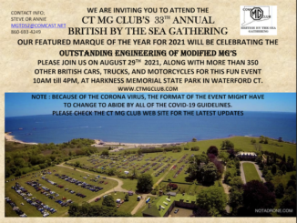 British By The Sea 2021 GENERAL INVITE Connecticut - Covid Revised