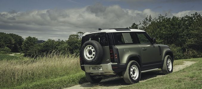 Land Rover Defender 90 Available for Order in UK
