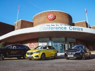 Paul Rigby MG opens at historic Longbridge site