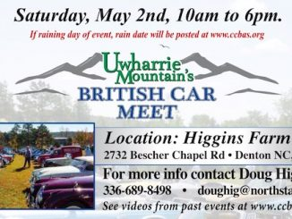 Uwharrie Mountains British Car Meet 2020