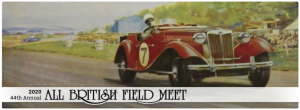 2020 Portland All British Field Meet Celebrating 44 Years