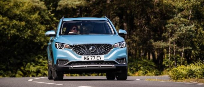 MG - ZS EV - MG'S STRONG SALES CONTINUE WITH FEBRUARY SUCCESS