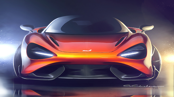 McLaren 765LT design sketch_01