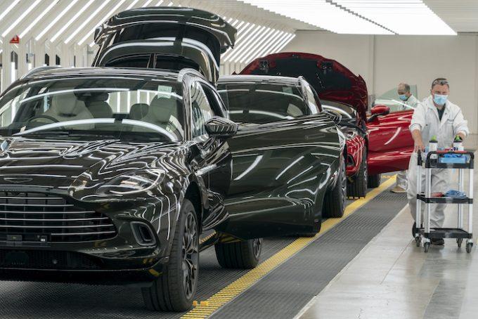 Aston Martin - St Athan - Return to Work