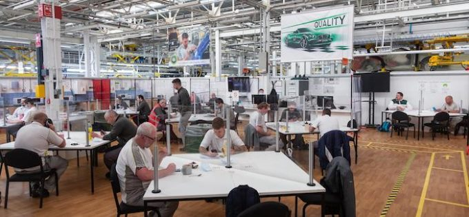 Bentley Motors Resumes Production