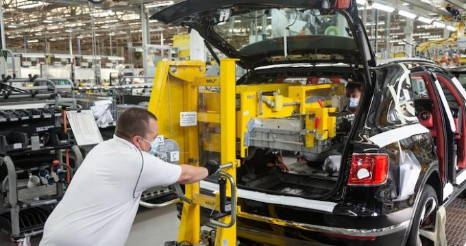 Bentley Restarts Production