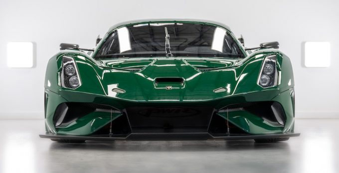 Brabham Automotive Delivers First BT62 Competition Model