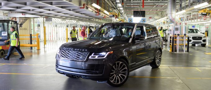First Socially-Distanced Made Range Rover Roll Off The Line