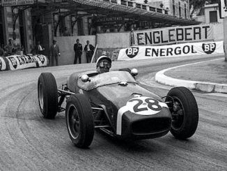 Lotus Type 18 Stirling Moss 1960 Monaco Header