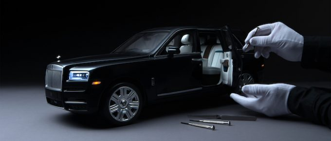 Rolls-Royce in Miniature - Perfection on Every Scale - Cullinan - 01