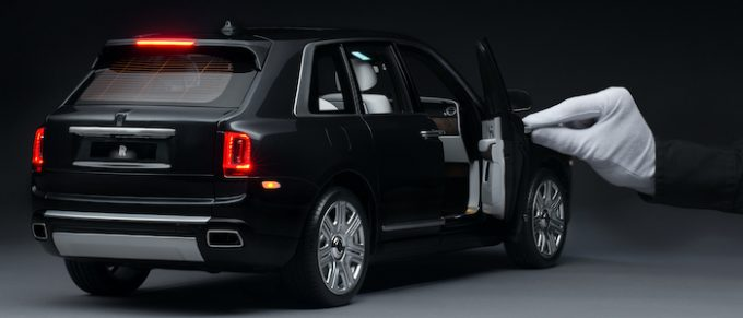 Rolls-Royce in Miniature - Perfection on Every Scale - Cullinan