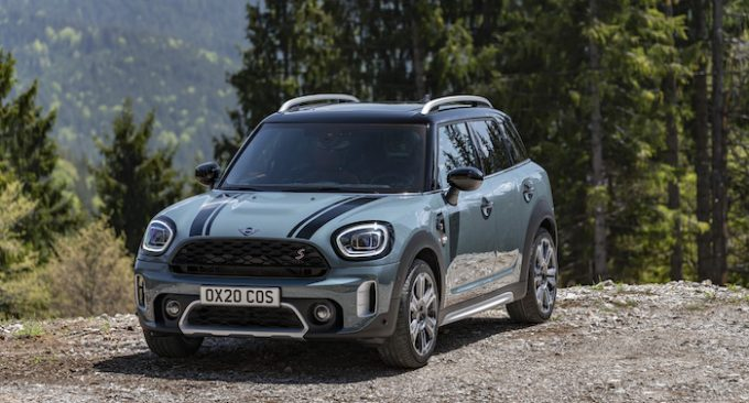 The New 2021 MINI Countryman - Cooper S front