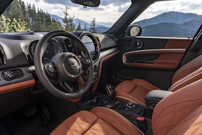 The New 2021 MINI Countryman - Cooper S interior