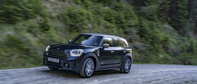 The New 2021 MINI Countryman Cooper front left side 1