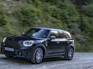 The New 2021 MINI Countryman Cooper front left side