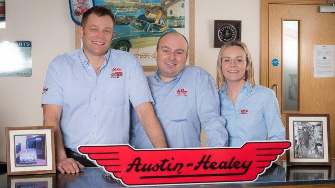 A H Spares Austin Healey Specialist 2