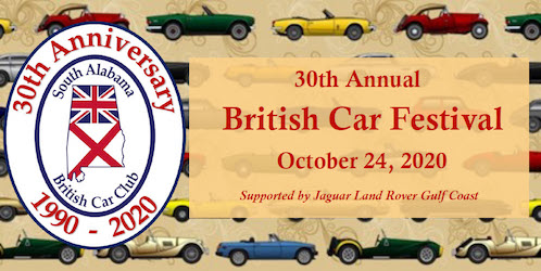 South Alabama British Car Festival 2020