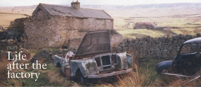 JUE 477 - The remarkable history and restoration of the world's first production Land-Rover 1