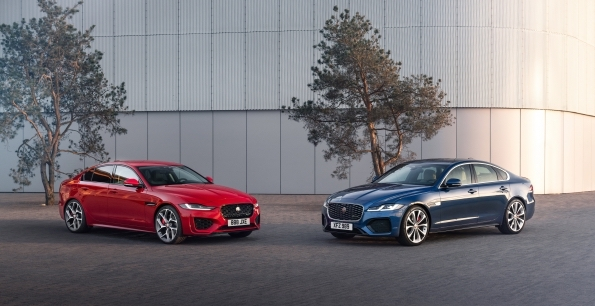 Jaguar XE and XF Saloon