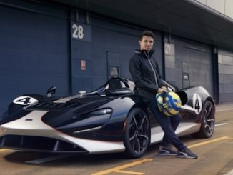 Lando Norris Meets the McLaren Elva