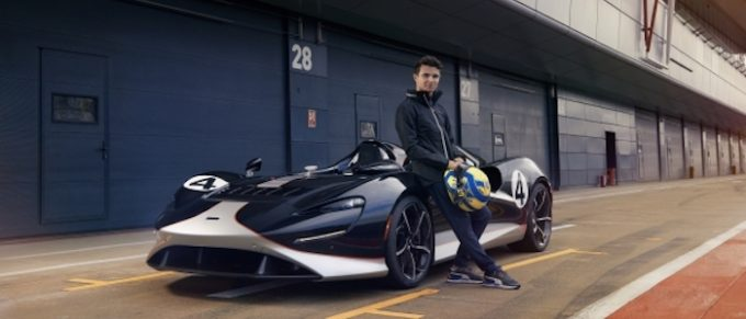 Lando meets Elva: McLaren's rising star demonstrates the pure driving exhilaration offered by the new McLaren Elva