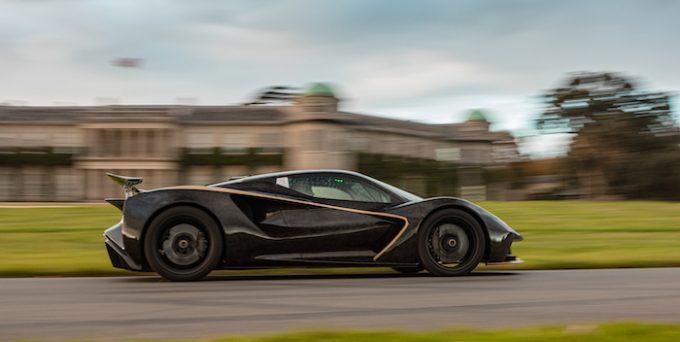 Lotus Evija debuts at Goodwood Speedweek 02