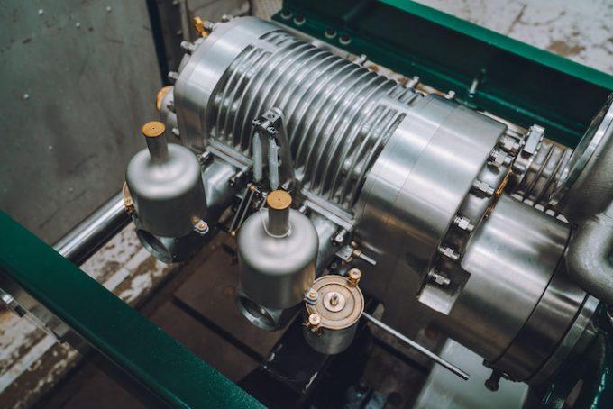 New Bentely 4.5 litre Blower Engine