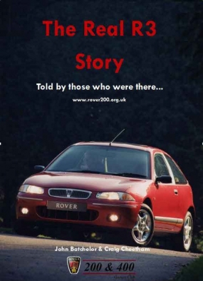 Rover - The Real R3 Story Told by those who were there